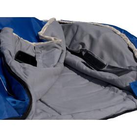 Grüezi-Bag Cloud Deluxe Blanket Sleeping Bag, blue